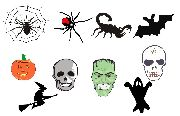 Halloween Mix Sticker 1