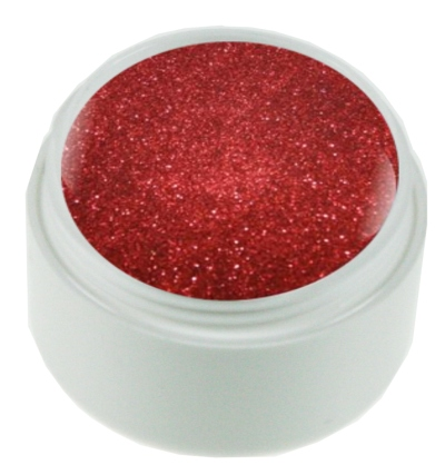 Red Crystall Glittergel
