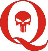 Q Punisher Sticker Rot